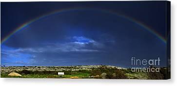 Rainbow Canvas Print by Stelios Kleanthous