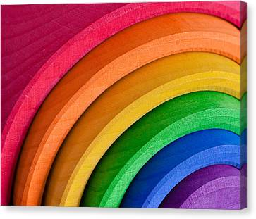 Rainbow Canvas Print by Tom Gowanlock