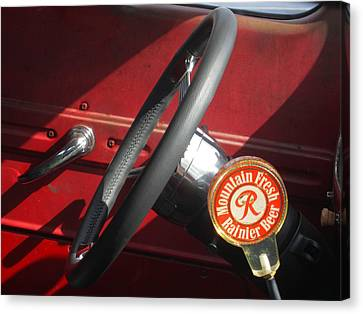 Canvas Print featuring the photograph Rainier Stick Shift  by Kym Backland