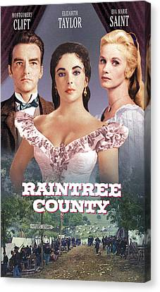 Raintree County, Montgomery Clift Canvas Print by Everett