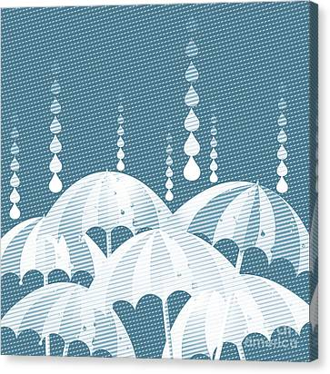 Rainy Day Canvas Print by HD Connelly