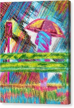 Rainy Day Canvas Print by Kenal Louis