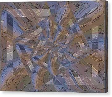 Rainy Day Portal 3 Canvas Print by Tim Allen