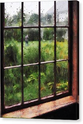 Rainy Day Canvas Print by Susan Savad