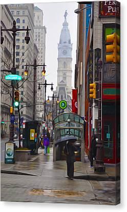 Rainy Days And Sundays Canvas Print by Bill Cannon