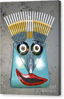 Rake Man Canvas Print