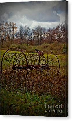 Rake Canvas Print by Randall  Cogle