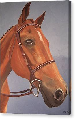 Canvas Print featuring the painting Ralph by Krista Ouellette