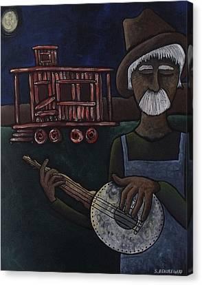 Ramblin' Man Canvas Print by Stefanie Silva