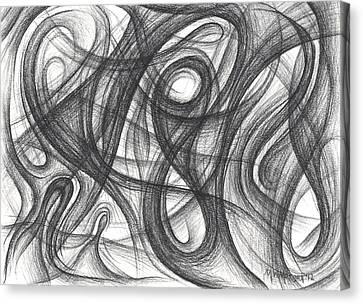 Random Intentions Canvas Print by Michael Morgan