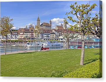 Rapperswil Canvas Print by Joana Kruse