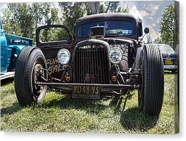 Rat Rod Canvas Print by Peter Chilelli