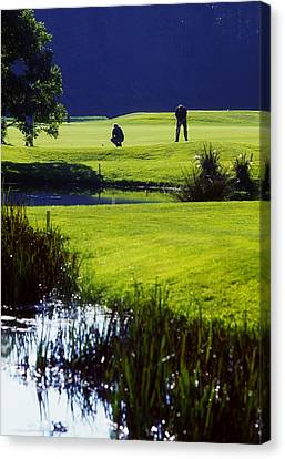 Rathsallagh Golf Club, Co Wicklow Canvas Print by The Irish Image Collection