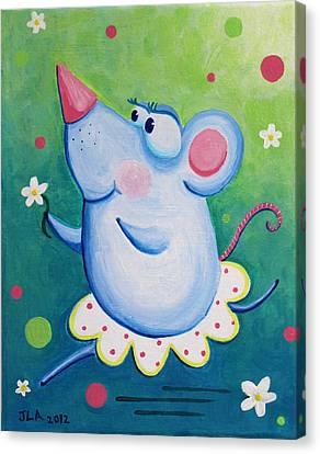 Ratterina Canvas Print by Jennifer Alvarez