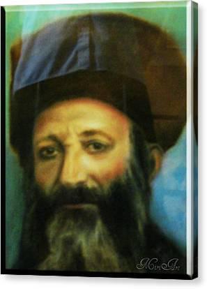 Rav Abraham Isaac Kook Canvas Print by Miriam Shaw