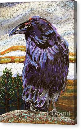 Raven Spirit Canvas Print by Harriet Peck Taylor