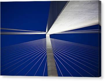 Ravenel Overhead Night - Horizontal Canvas Print by Donni Mac
