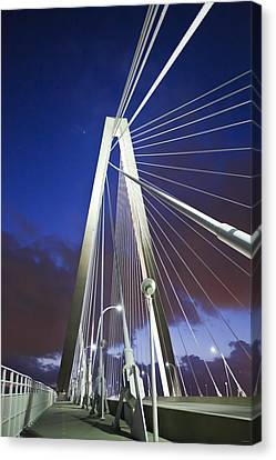 Ravenel Tower Canvas Print by Donni Mac