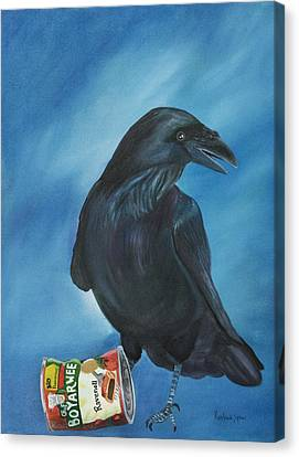 Ravenoli Canvas Print by Amy Reisland-Speer