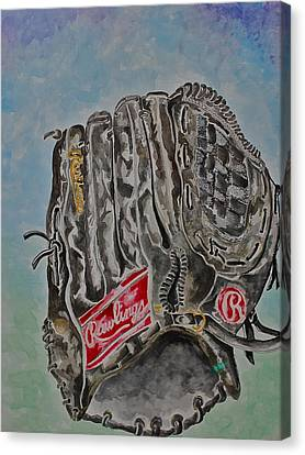 Rbg 36 B Ken Griffey Jr. Canvas Print by Jame Hayes