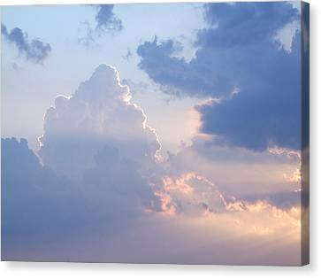 Reach For The Sky 4 Canvas Print by Mike McGlothlen