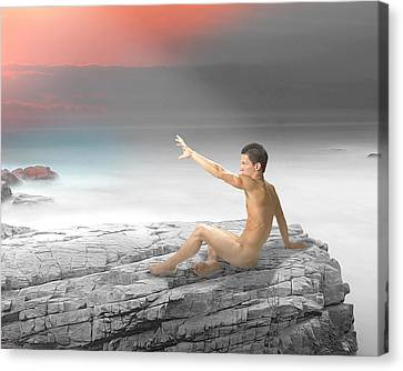 Reach Canvas Print by Michael Taggart