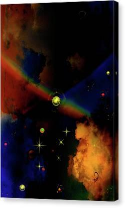 Reaching Mars Canvas Print