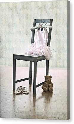 Ready For Ballet Lessons Canvas Print