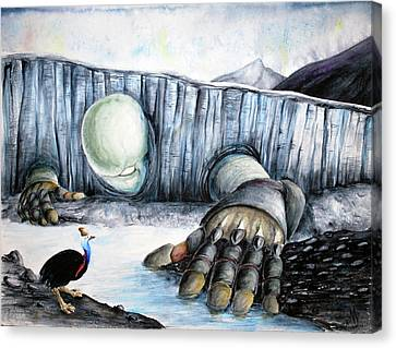 Rebirth Canvas Print by Amanda Ellis