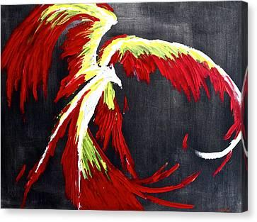 Rebirth Canvas Print by Eric Chapman