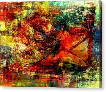 Recall - Rappel  Canvas Print by Fania Simon