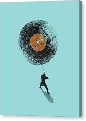 Record Breaker Canvas Print