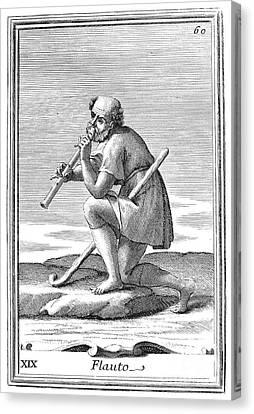 Recorder, 1723 Canvas Print by Granger