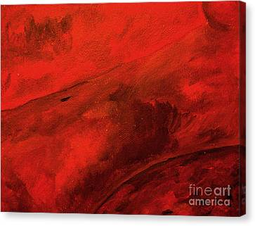 Red Canvas Print by Andreas Berheide