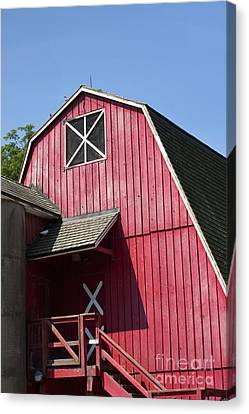 Red Barn Canvas Print by Blink Images