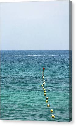 Red Buoy Canvas Print by Daniel Kulinski