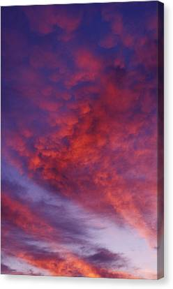 Red Clouds Canvas Print by Garry Gay