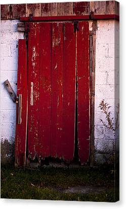 Red Door Canvas Print by Cale Best