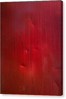 Red Canvas Print by Eena Bo