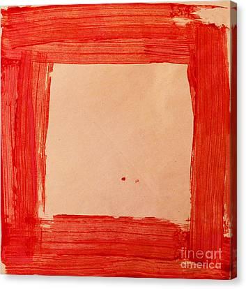 Red Frame   Canvas Print by Igor Kislev
