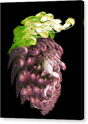 Red Grapes Canvas Print by Linda Phelps