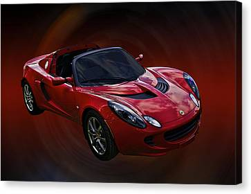 Red Hot Elise Canvas Print by Mike  Capone