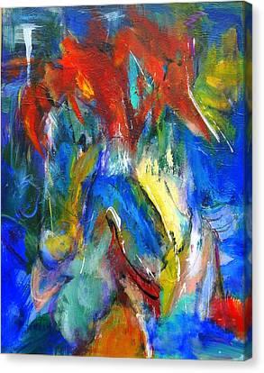 Red Mane Canvas Print