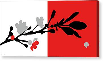 Red One Canvas Print by Nomi Elboim