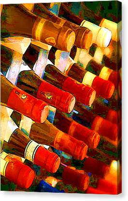 Red Or White Canvas Print