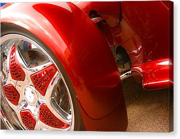Red Prowler  Canvas Print by Toni Hopper