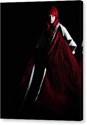Red Riding Hood Canvas Print by Jim Boardman