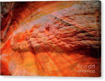 Red River Canvas Print by Keith Kapple