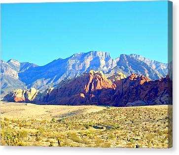 Red Rock Canyon 12 Canvas Print