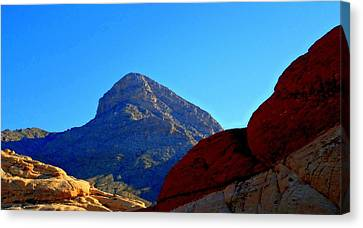 Red Rock Canyon 24 Canvas Print by Randall Weidner